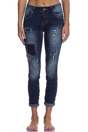 Abbino 3d 751 Jeans Jeanshose Damen Frauen Made In Italy 1 Farbe