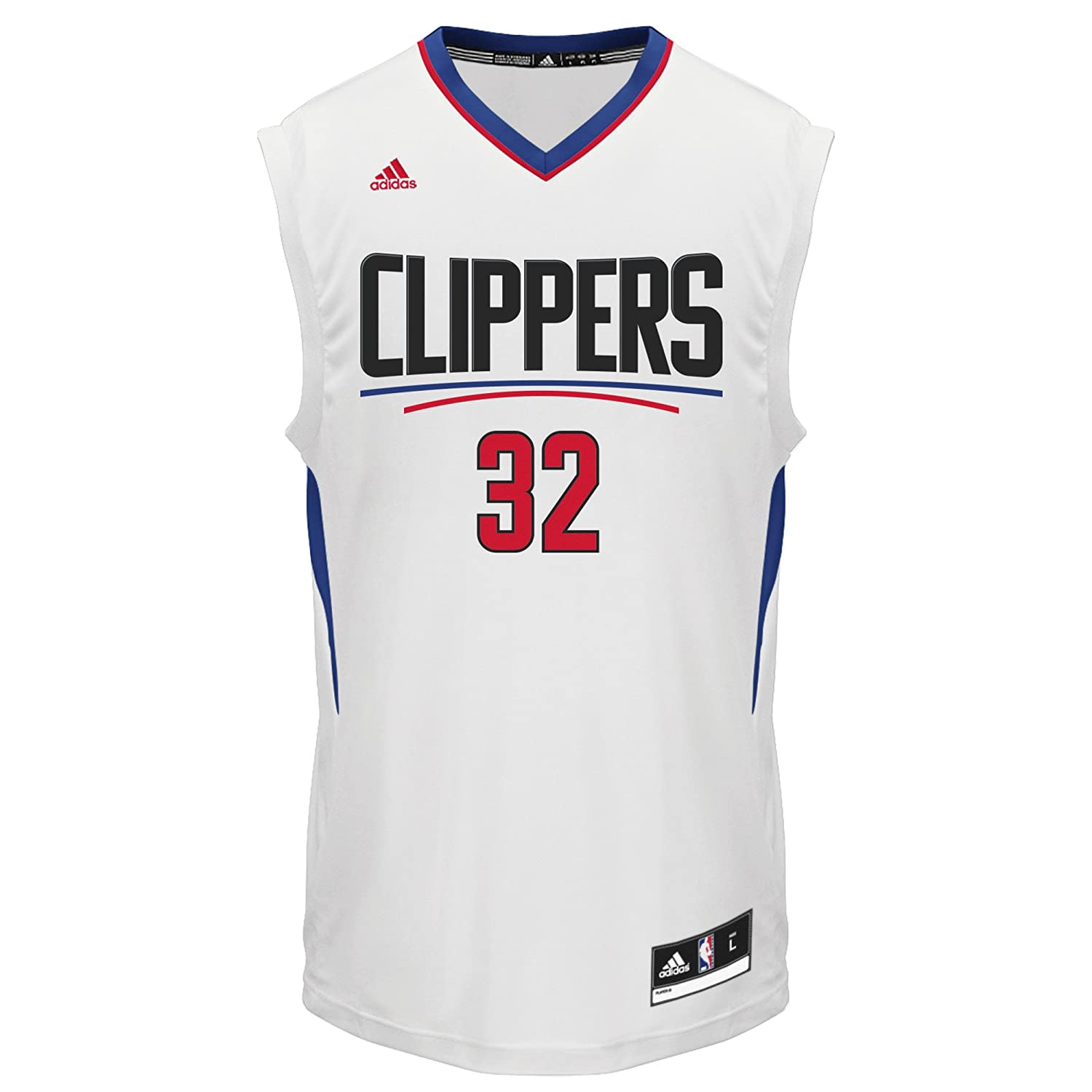 brand new f63a0 7b716 NBA Los Angeles Clippers Blake Griffin #32 Men's Replica Jersey, X-Large,  White