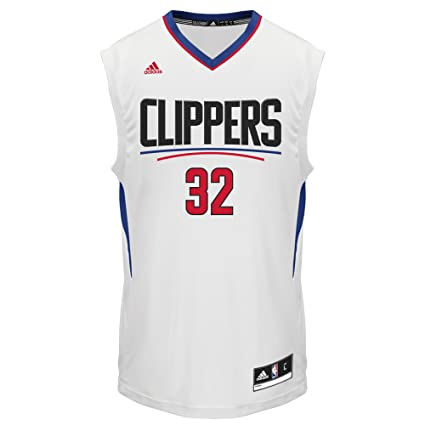 brand new 0cdb5 e67d4 NBA Los Angeles Clippers Blake Griffin #32 Men's Replica Jersey, X-Large,  White