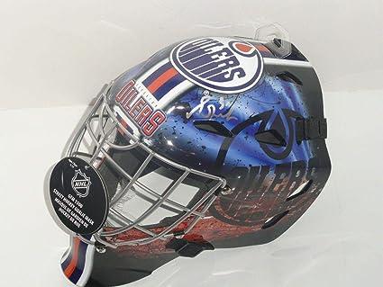 Amazoncom Grant Fuhr Signed Edmonton Oilers Full Size