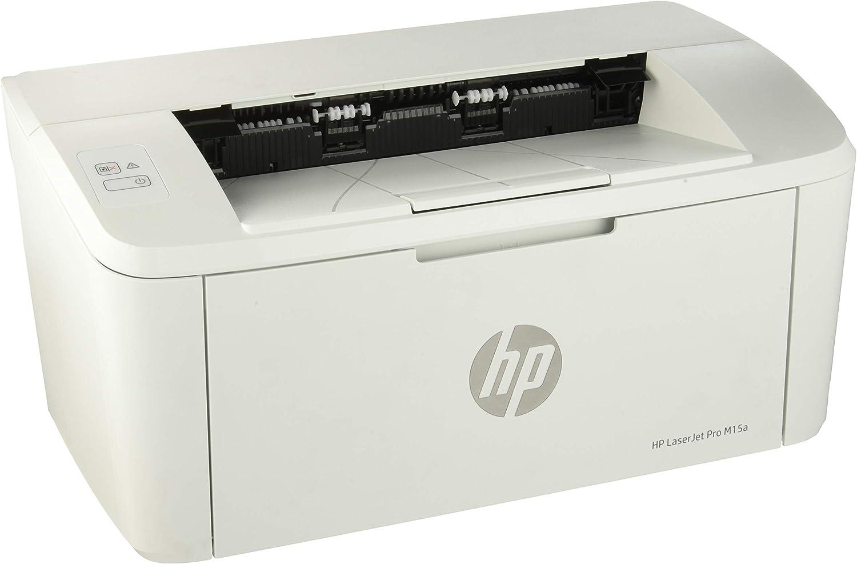 HP LaserJet Pro M15a - Impresora láser (USB 2.0, 18 ppm, memoria ...