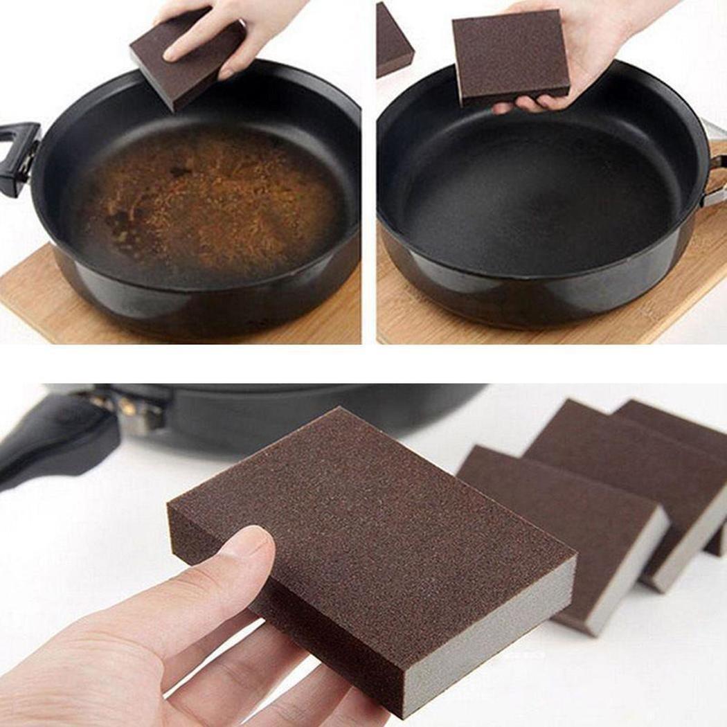 MYEDO 1 pcs Cleaning Sponge Brush Magic Carborundum Nano Sponge Washing Kitchen Cleaner Tool