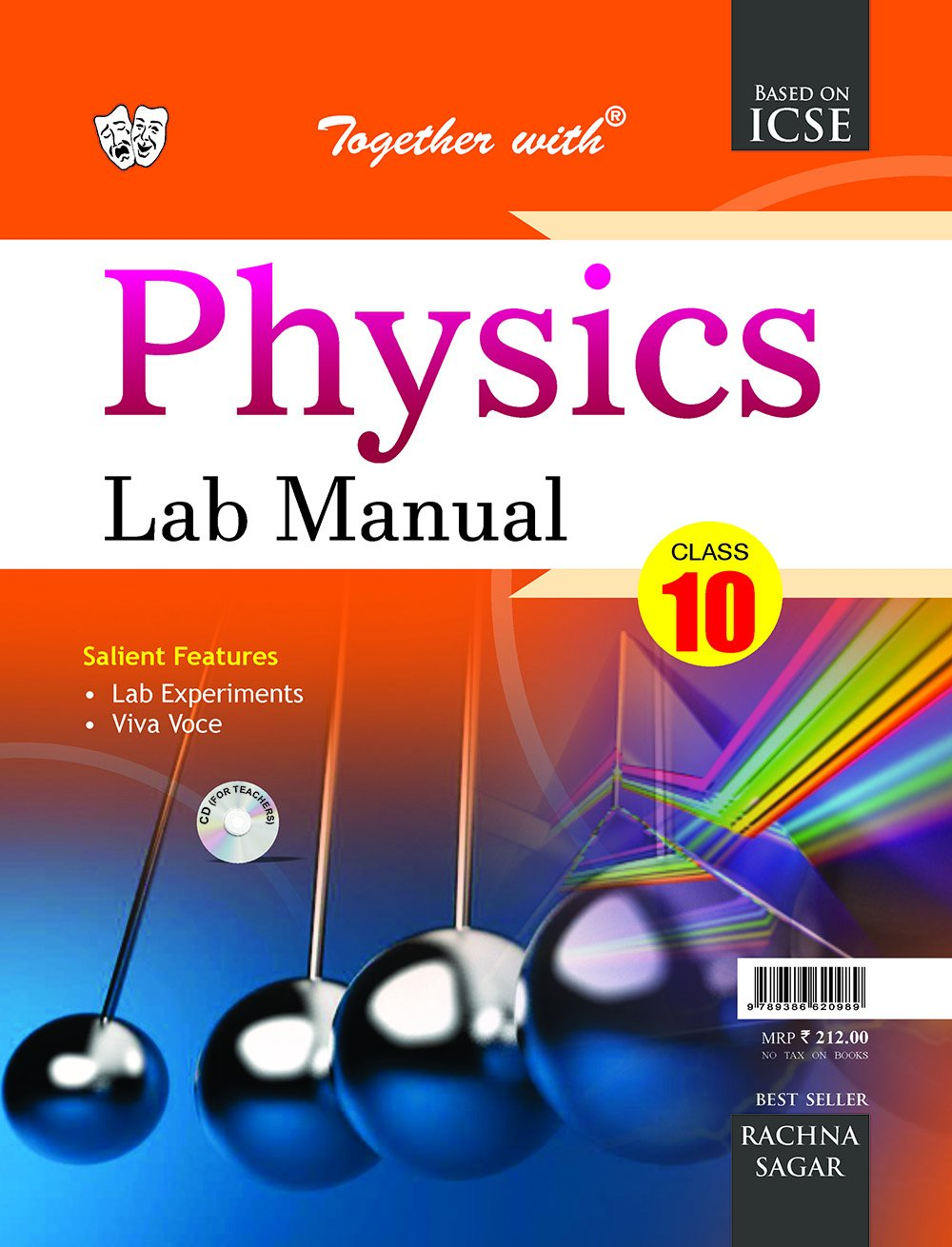 Amazon.in: Buy Together with ICSE Lab Manual Physics for Class 10 for 2019  Exam Book Online at Low Prices in India | Together with ICSE Lab Manual  Physics ...