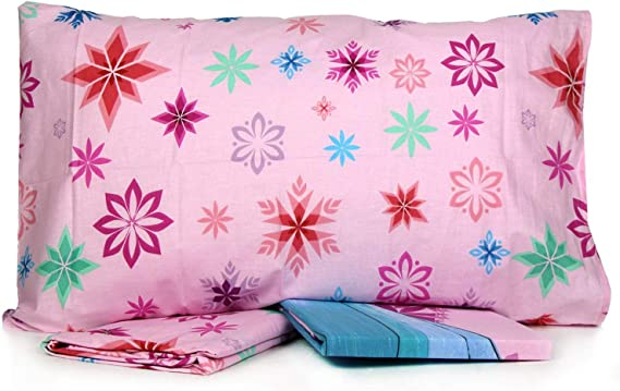 Singolo Jerry Fabrics Frozen Letto 70x90 cm 1 One Size 140x200 Rosa Bianco