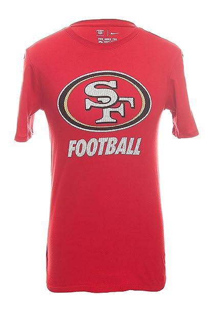 new arrival e1d39 42c55 Amazon.com: Nike Men's San Francisco 49ers Short-Sleeve ...