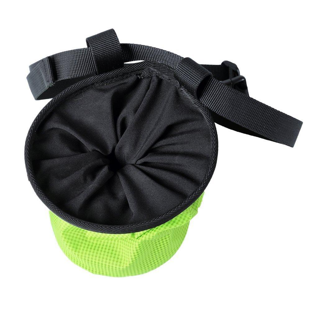 Rot e gesso Beutel ginnastica Sollevamento Pesi Chalk Bag Magnesio carbonato palloni per arrampicate