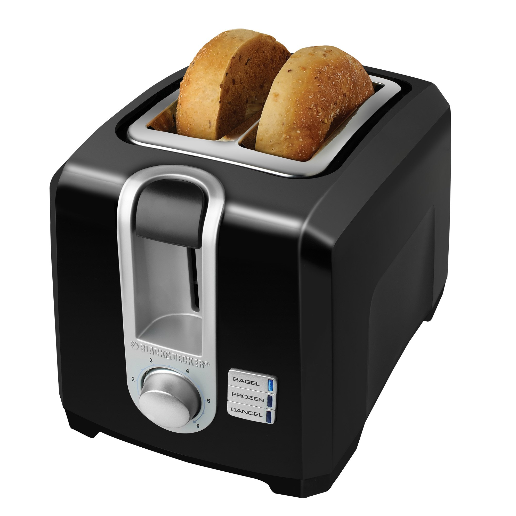 steel professional black slot stainless bagel toaster itm extra wide slice