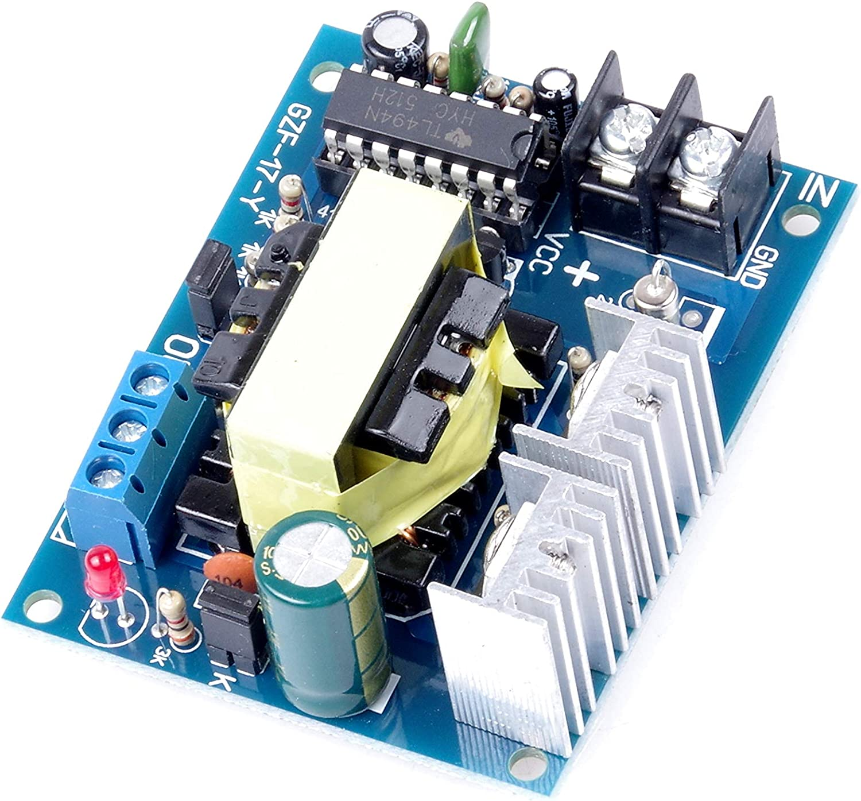 KNACRO High Voltage Boost Converter DC-AC 12V to 110V 220V AC 100W Inverter Boost Board Transformer