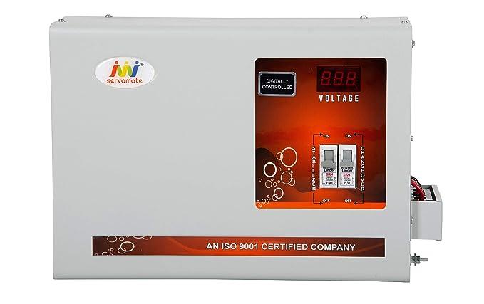 Servomate 5KVA Single Phase Copper Mainline Automatic Voltage stabilizer  90v 300v