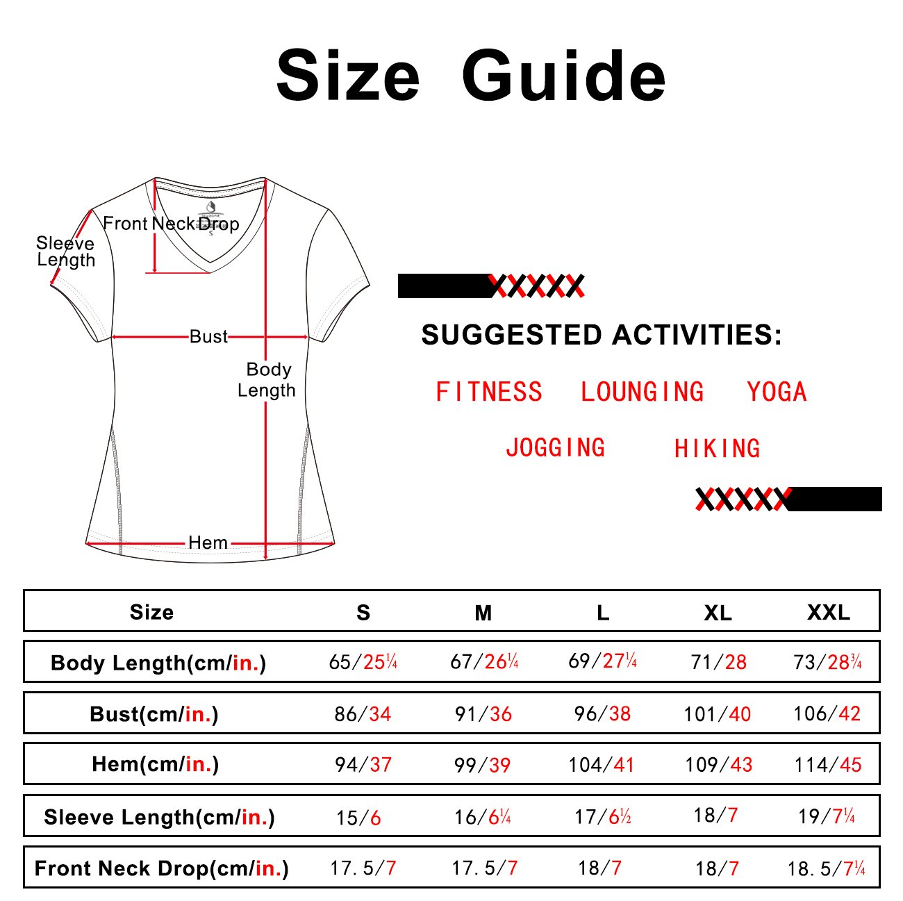 icyZone Workout Shirts Yoga Tops Activewear V-Neck T-shirts for Women Running Fitness Sports Short Sleeve Tees (L, Black Heather)