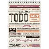 etmamu 381 Calepin To-Do list A5 70 Feuilles 3 colonnes pour Organisation des tâches