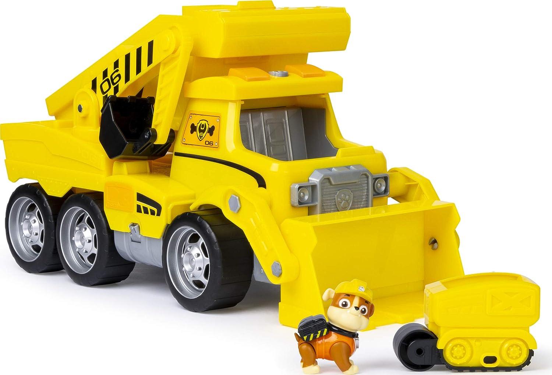 PAW PATROL Ultimate Construction Rescue-Camión de construcción, color amarillo (Spin Master 6046466) , color/modelo surtido