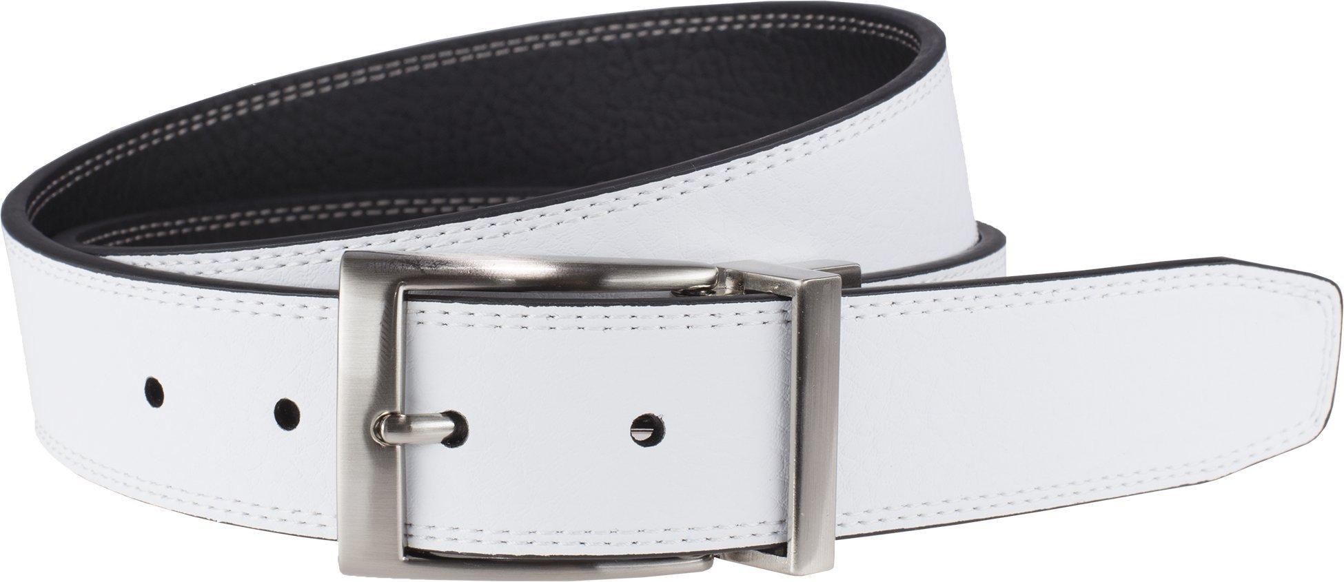Nike Men's Classic Reversible Belt, Black/White, 34