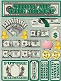 Reminisce Signature Series 3-Dimensional Sticker, Show Me the Money