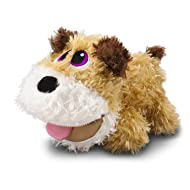 Stuffies Digger The Baby Dog Plush with Secret Pockets and Friendship Bracelets