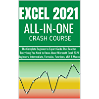 EXCEL 2021 ALL-IN-ONE : The Complete Beginner to Expert Guide That Teaches Everything You Need to Know About Microsoft…