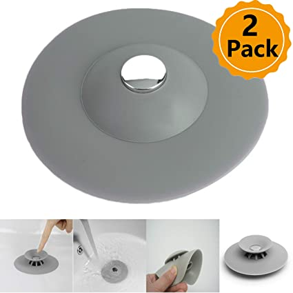 Home Improvement Bathroom Hardware Adaptable Shower Floor Drains Bathroom Floor Drain Hair Catcher Bathtub Plug Bathroom Kitchen Basin Stopper Cover Grate