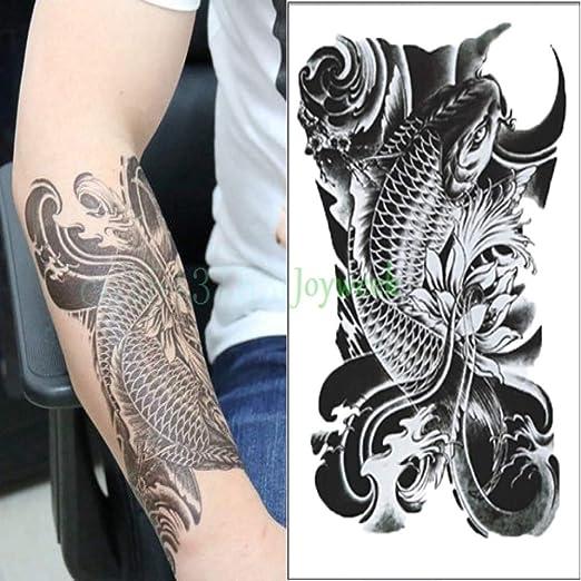 ljmljm 5pcs Impermeable Etiqueta engomada del Tatuaje Fresco ...