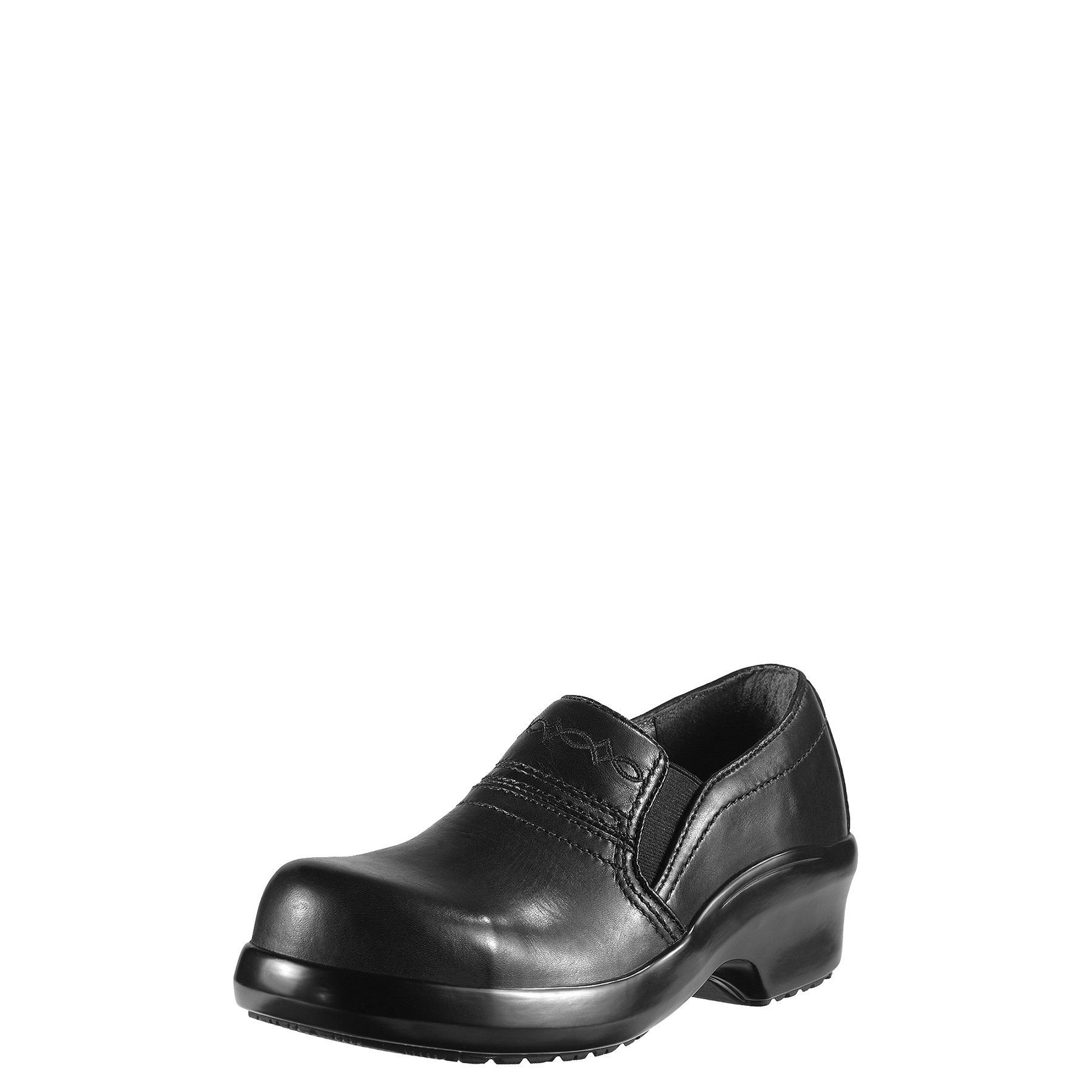 Ariat Women's Expert Static Dissipative Safety Clog, Black, 8.5 W US