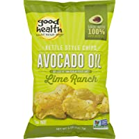 Good Health Avocado Oil Kettle Style Lime Ranch Chips 5 oz. Bag (3 Bags)