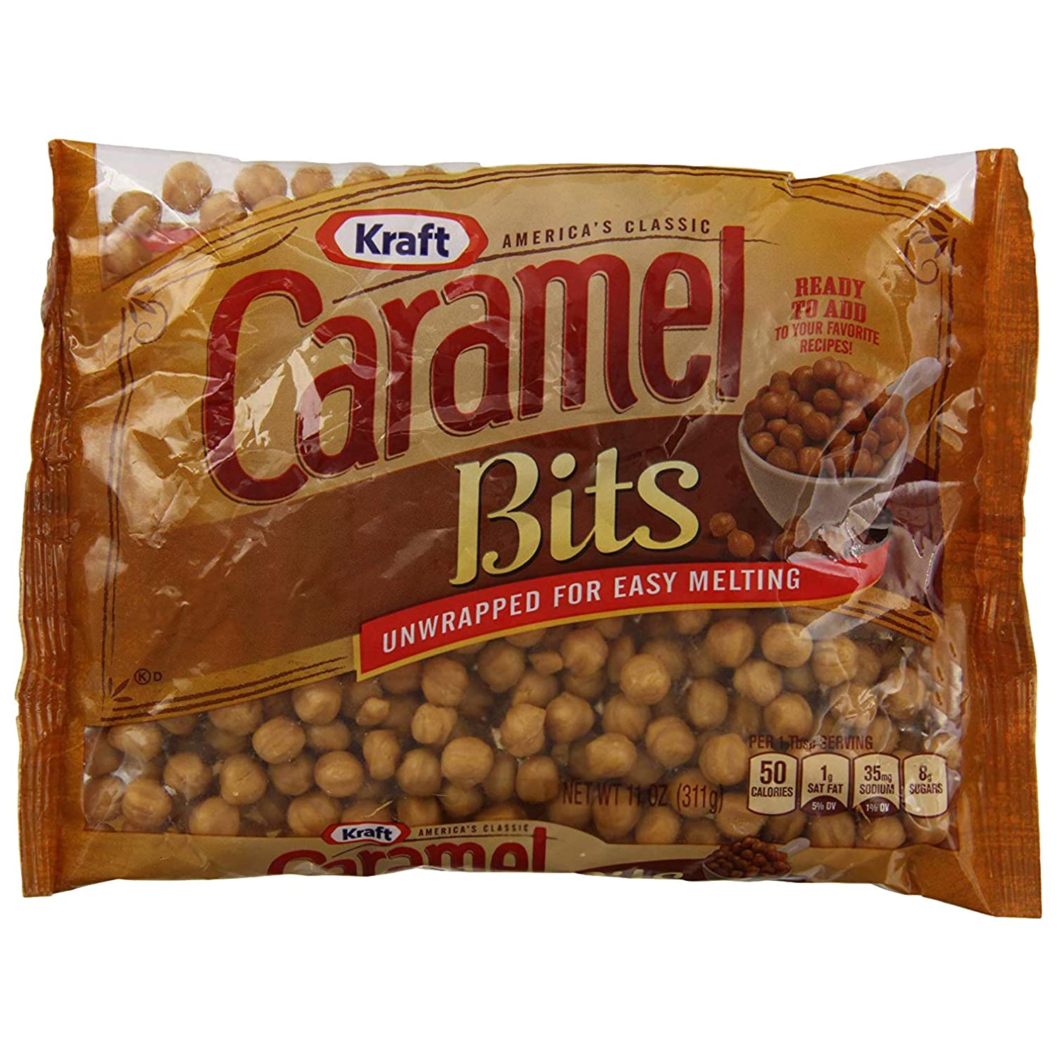 Amazon.com : Kraft Caramel Candy Bits, 11 Ounce (Pack of 3) : Grocery & Gourmet Food