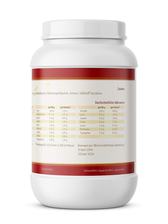 VITACONCEPT PROTEIN 4 PLUS - Compuesto de proteínas - Suero de leche, soja y huevo - Hecho en Alemania - Vainilla - 1 kg: Amazon.es: Salud y cuidado ...