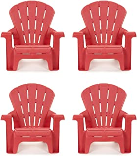 product image for Little Tikes Garden Chair (4 Pack), Red