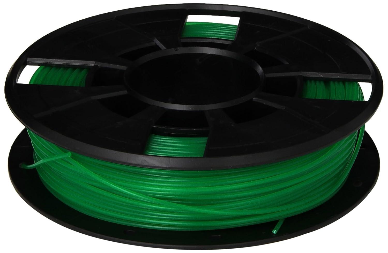 MakerBot PLA Filament, 1.75 mm Diameter, Small Spool, Translucent Green MP05761