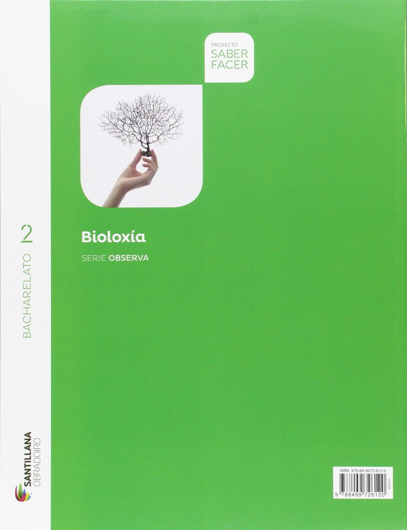 BIOLOXIA SERIE OBSERVA 2 BCH SABER FACER - 9788499726939: Amazon.es: Aa.Vv.: Libros