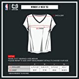 Ultra Game Women's NBA Box Out Varsity Stripe Tee