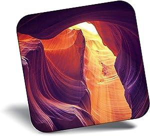 Destination Vinyl ltd Awesome Fridge Magnet - Upper Antelope Canyon Arizona USA 16058