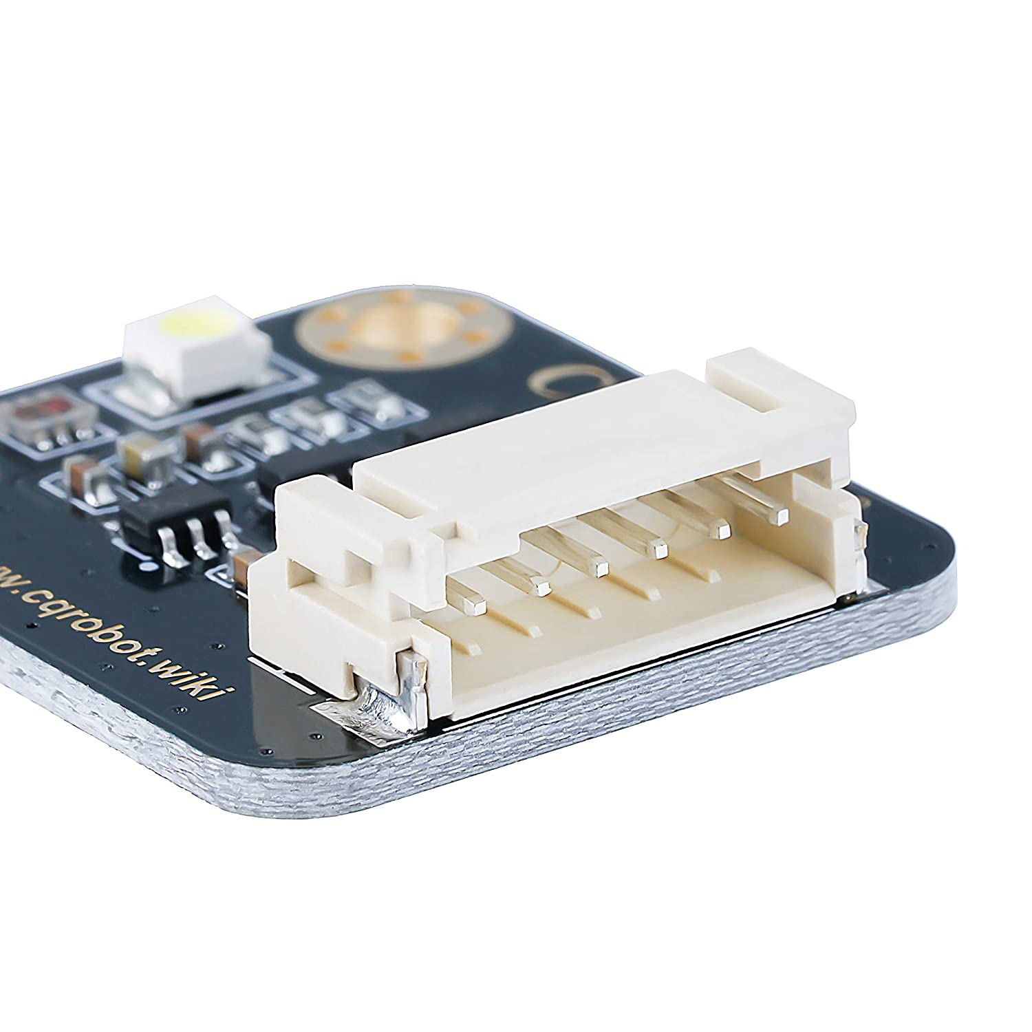 Output RGB Data And Light Intensity Table I2C Interface CQRobot Raspberry Pi//Arduino // STM32 TCS34725FN RGB Color Sensor for Ambient Light Test Product Color Verification And Classification.