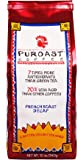 Puroast Low Acid Coffee French Roast Natural Decaf Whole Bean, 0.75 Pound Bag