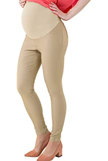 f011ee7cb2bf8 WuhouPro Womens Super Stretch Adjustable Maternity Pants at Amazon ...
