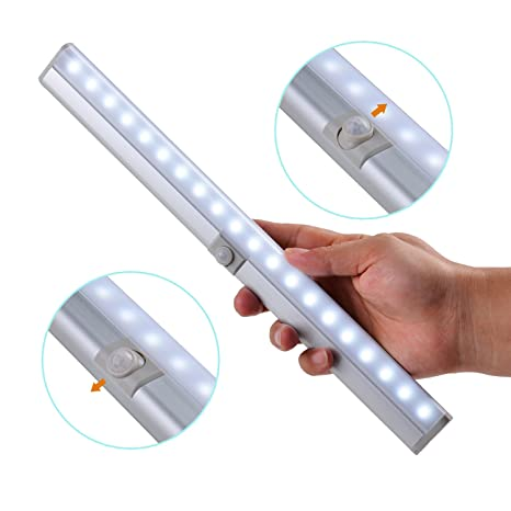 LED Closet Light, Tiltable Motion Sensor Closet Light, Motion Activated  Under Cabinet Light For