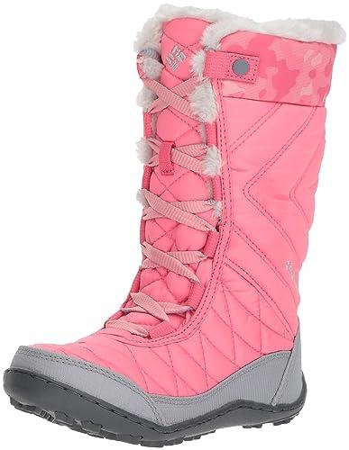 Columbia Girls  Youth Minx MID III Print Omni-Heat Snow Boot 8690f7d2110