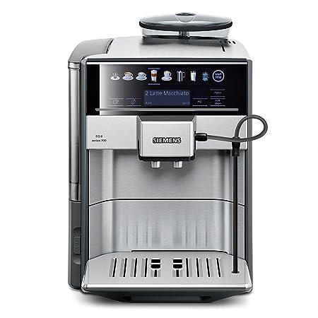 Siemens EQ.6 Series 700 - Cafetera automática, 1.7 L, color gris