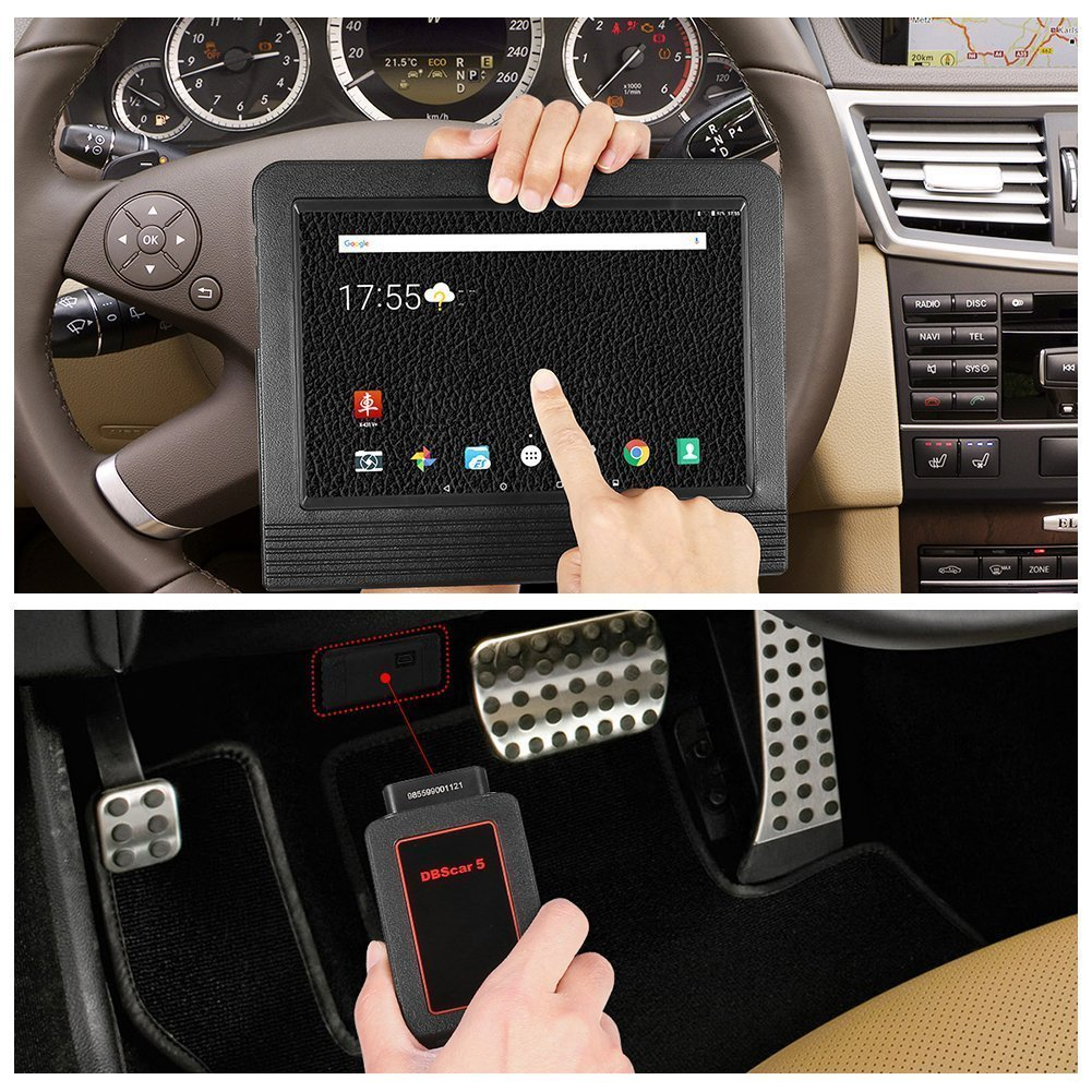 Launch X431 V+ Full System OBD2 ECU Coding Diagnostic Tool Scan Pad with Wifi & Bluetooth Connector 2 Years Online Update by Launch (Image #5)