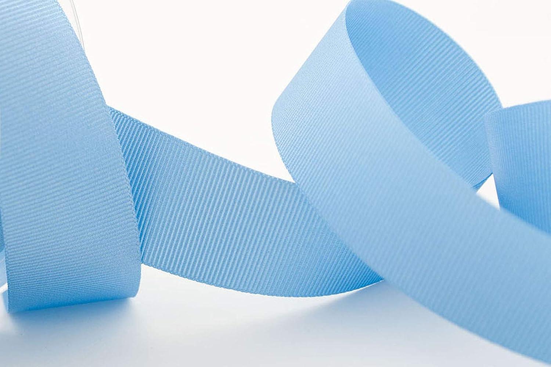 Bone Berisfords 41025 20 m x 6 mm Polyester Grosgrain Ribbon