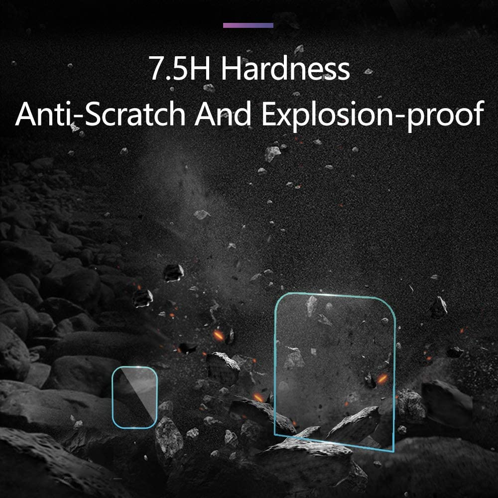TELESIN Screen Protector Tempered Glass for DJI OSMO Pocket 2 Screen Protector + 2 Lens Protector