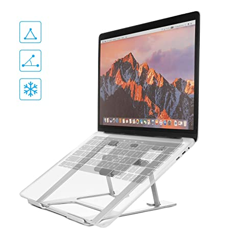 SAVFY Soporte Portátil Ordenador Tablet - Multifuncional Plegable Soporte Tablet para Macbook, Acer, ASUS