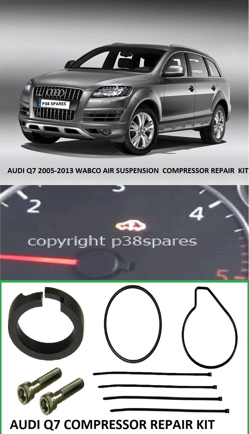 Q7 2005 - 2013 Wabco Compresor Suspensión Aire Pistón Anillo Reparar Kit: Amazon.es: Coche y moto