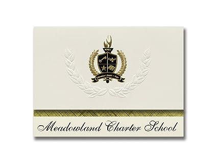 Signature Announcements Meadowland Charter School (Boerne, TX) Graduation  Announcements, Presidential Style,