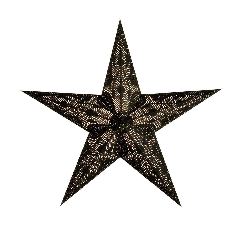 Papierstern Weihnachtsdeko | Weihnachtssterndamaskus M | Handgemacht | Papierstern 5 Zacken | starlightz handmade fairtrade | Weihnachten Leuchtdeko | Fensterdeko | Weihnachtsgeschenk
