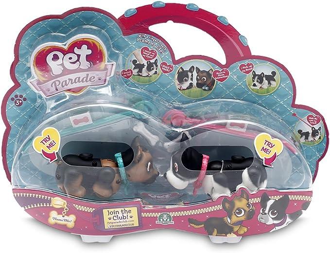 Pet Parade Blíster 2 Cachorros (Giochi Preziosi Spagna PTD01111): Amazon.es: Juguetes y juegos