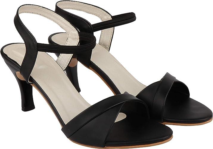 Do Bhai Women Stiletto Heel Women's Fashion Sandals at amazon