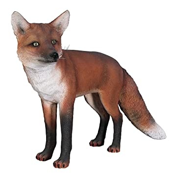Design Toscano European Red Fox Statue