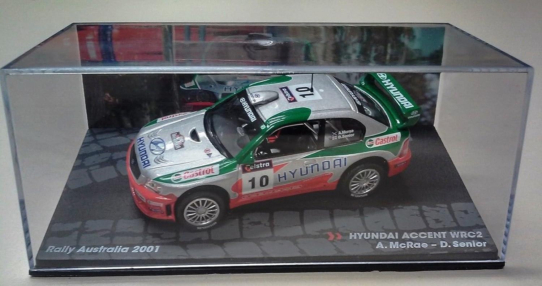 Générique Hyundai Accent WRC2 - Rally Australia 2001 - MC RAE - IXO 1/43: Amazon.es: Juguetes y juegos