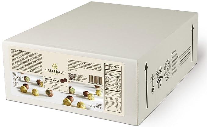 Callebaut Milk Truffle Shells - Conchas / Bolas Huecas Trufas de Chocolate con Leche (504