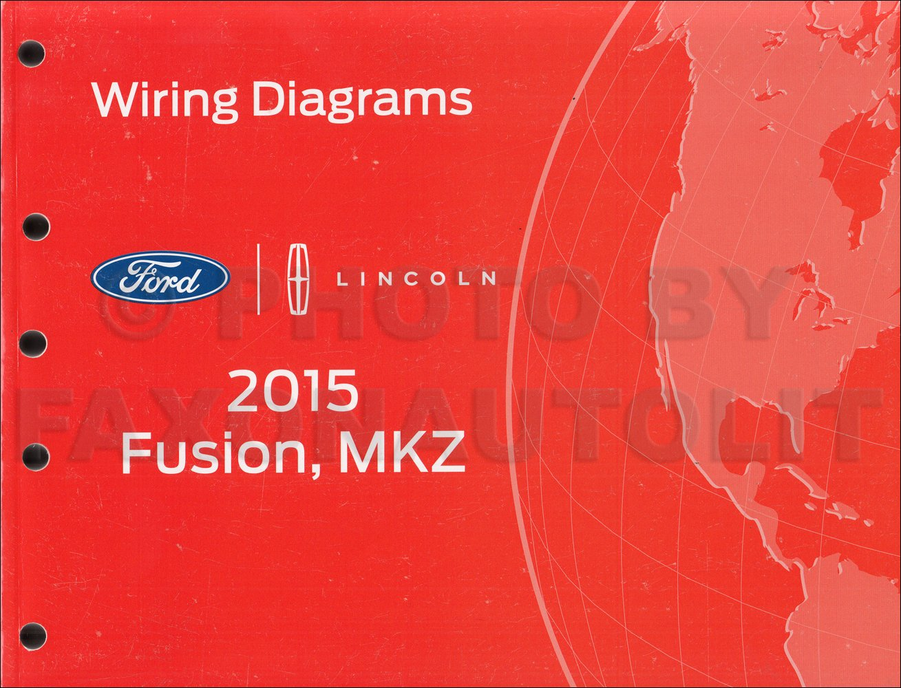 2015 Ford Fusion Lincoln MKZ Wiring Diagram Manual Original: Ford:  Amazon.com: Books | 2015 Ford Fusion Wiring Diagram |  | Amazon.com